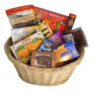 Children's Gift Basket full of treats and sweets